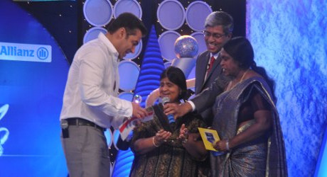 IBN7 Bajaj Allianz Super Idols Award