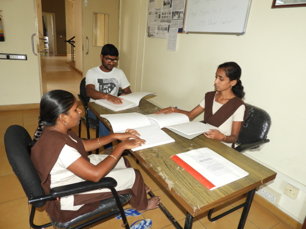 Working Tirelessly to Provide Blind Students with Braille Books