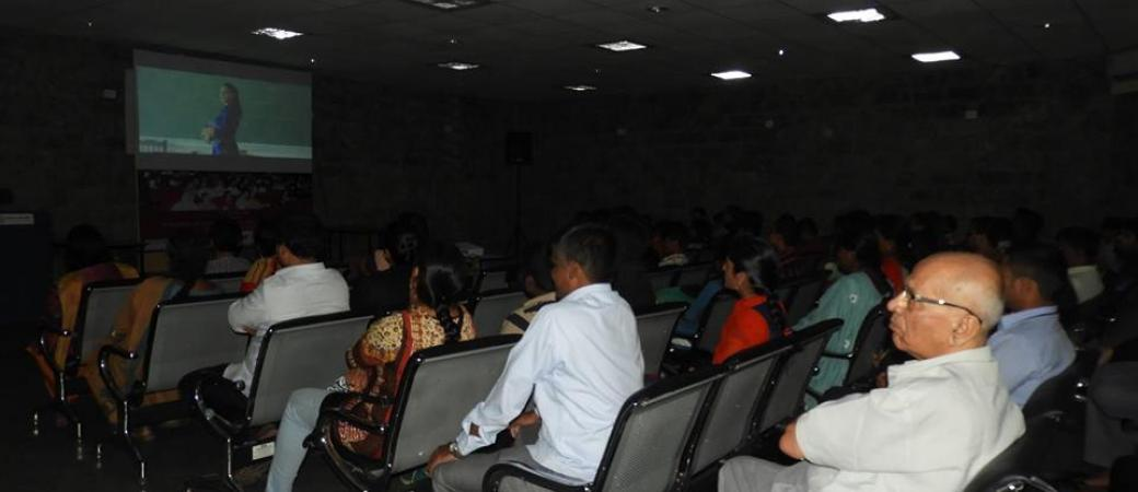 Movie date with audio description at Mithra Jyothi